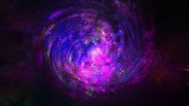 Galaxy, Luminous, Landscape, Good Luck, Majestic