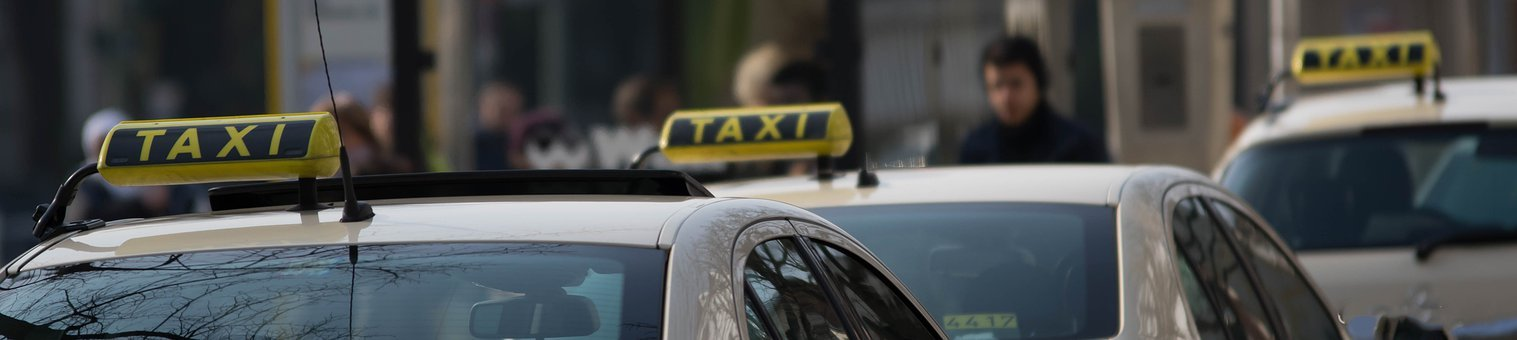 Taxe, Taxi Sign, Taxi, Means Of Rail Transport