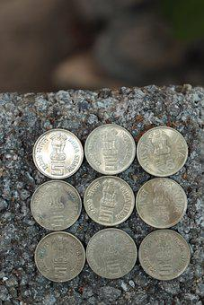 Coin, India, Indian Coin, Money, Rupay, Finance