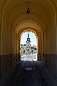 Radzyń Podlaski, The Palace, Potocki, Monument, History