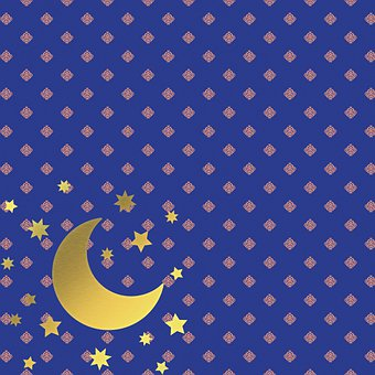 Eid Mubarak, Arabic Background, Moroccan Paper