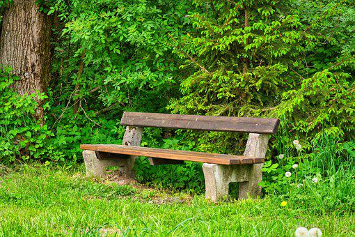 Bench, Bank, Wooden Bench, Rest, Seat, Nature, Sit, Out