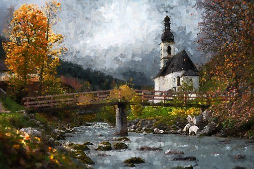 Oil Painting, Paint, Painting, Artist