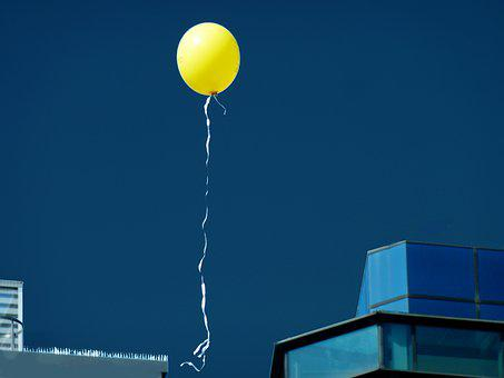 Balloon, Wind, Balloons, Party, Celebration, Sky