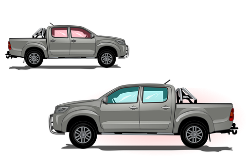 Pickup Truck, Pickup, Truck, Auto, Driving