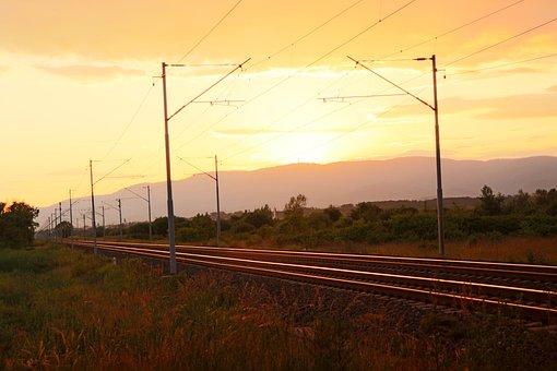 Railway, Rails, Train, Travel, Railroad, Transport
