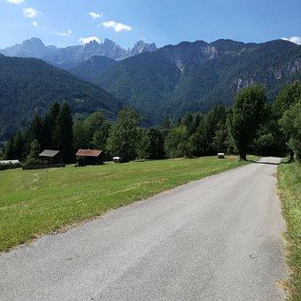 Street, Nature, Road, Landscape, Sky, Summer, Forest