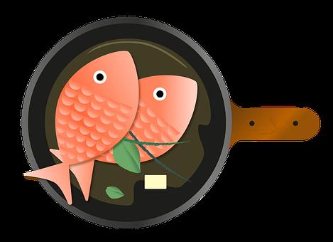 Fish, Restaurant, Salmon, Pan, Specialty, Sea, Dish