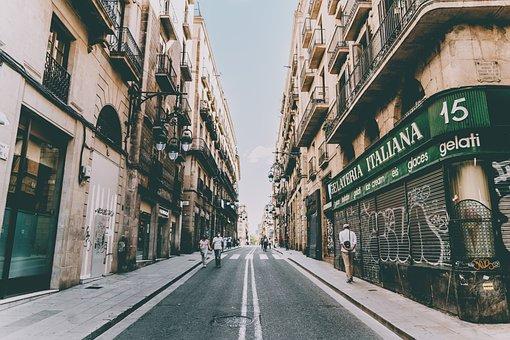 Barrio Gotic, Vacuum, Streets, Gothic, Barcelona