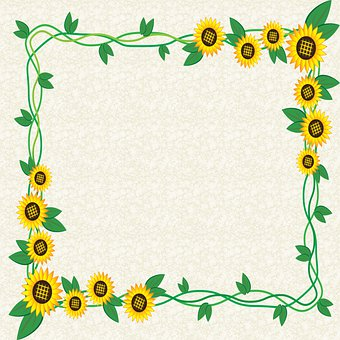 Sunflower Lace Background, Sunflower Paper