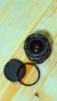 Lens, Vintage, Photography, Retro, Old, Photographer