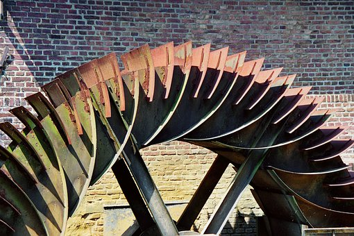 Mill Wheel, Mill, Water Mill, Waterwheel, Water Power