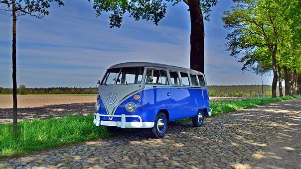 Vw T1, Vw Bus, Bulli, Oldtimer, Bus, Volkswagen, Auto