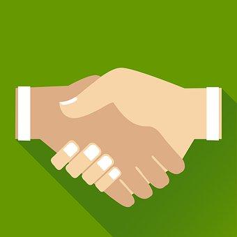Agree, Agreement, Business, Businessman, Clip Art