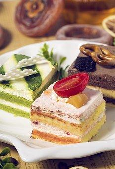Cakes, Food, Dessert, Sweet, Birthday, Delicious