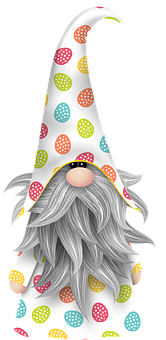 Easter Gnome, Gnome, Scandia, Imp, Bart, Easter