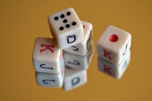Cubes, Game, Gaming, Play, Happiness, The Bones, Casino