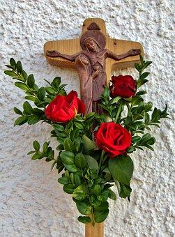 Cross, The Cross Of The Unit, Good Friday, Jesus, Maria