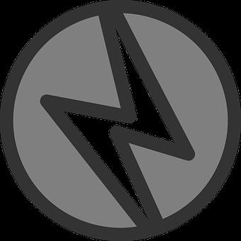 Lightning, Bolt, Icon, Symbol, Power, Thunderbolt