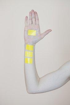 Tag, El, Arm, Yellow, Design, Msn Letters, Symbol