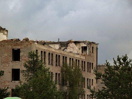 Building, Crash, Neglect, Abandoned, Old, Forget