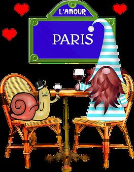 Valentine Gnome, Valentine's Day, Valentine, Paris