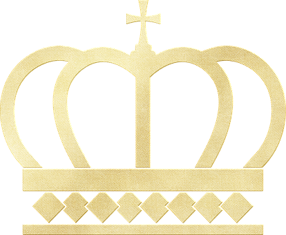 Gold Foil Crown, Tiara, Crown, Queen, King, Princess