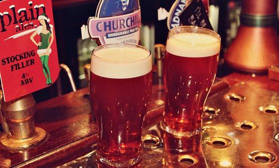 Beer, Ale, Alcohol, Beverages, Pub