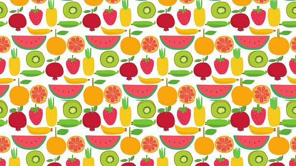 Fruit, Wallpaper, Kiwi, Apple, Red, Lime