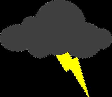 Lightning, Clouds, Thunderstorm, Bolt, Storm, Strike
