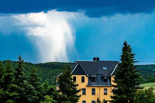Thunderstorm, Mood, Clouds, Cloudburst, Forward, Storm