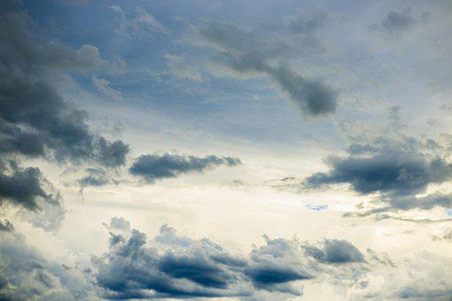 Abstract, Aerial Clouds, Aerial Sunset, Aerial View
