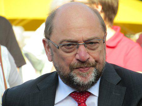 Martin Schulz, Spd, German, Bundestag, Leaders, Cdu