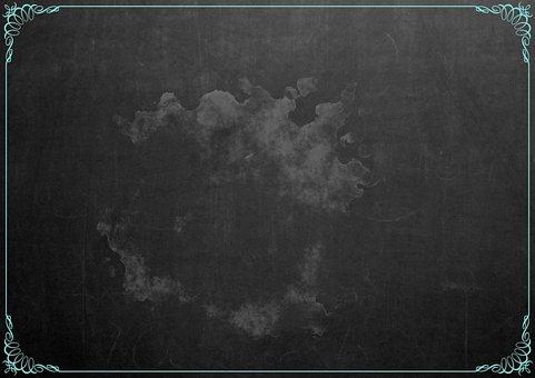 Black, Blackboard, Texture, Art, Smudge, Chalkboard