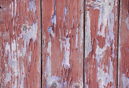 Shabby Chic, Wood, Faded, Color, Flaked Off