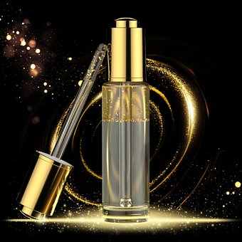 Gold, Golden, Gold Flakes, Skincare Product