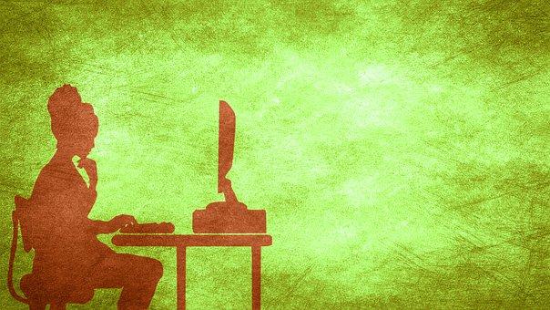 Background, Green, Imaginative, Contemporary, Female