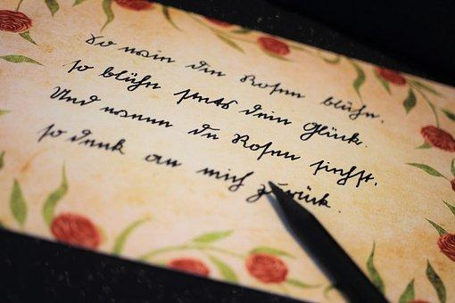 Handwriting, Sütterlin, Write, Memories, Seniors