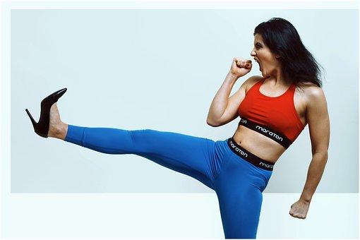 Kick, Sport, Karate, Sports, Exercise, Boxing