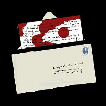 Blood, Letter, Horror, Attempted Murder, Murder