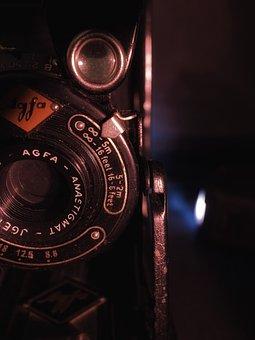 Agfa, Agfa Billy, Camera, Old, Photography, Flea Market