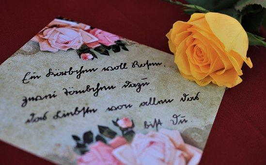 Sütterlin, Old German Font, Handwriting, Pensioners