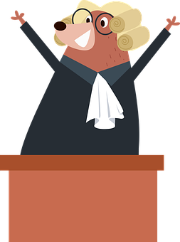 Woman Judge, Judging, Judge, Presiding, Woman