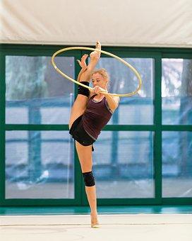 Gymnast, Athlete, Workout, Gym, Gymnastics, Sport, Girl