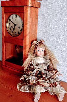 Clock, Doll, Time, Decoration, Figure, Time Of, Pointer