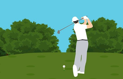 Golf, Player, Competition, Man, Training, Exercise