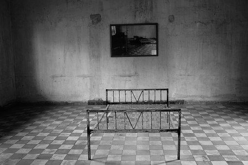 Tuol Sleng, Prisoners, Cell, Prison, Crime, Genocide