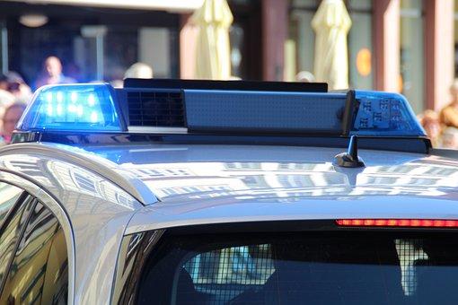 Police, Blue Light, Use, Crime, Criminal Case