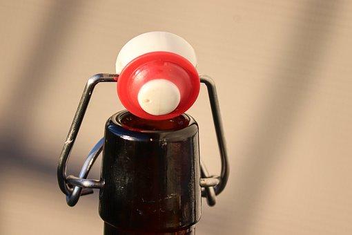 Iron Bottle, Bottle Strap, Metal, Ceramic, Closure