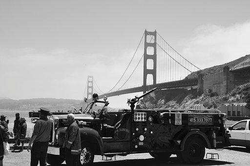 Golden Gate Bridge, San Francisco, Landmark, Bridge
